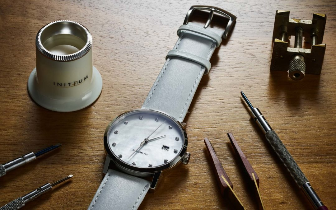 Make your own swiss watch with Initium!