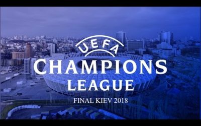 2018 UEFA Champions League final. Kyiv, Ukraine.