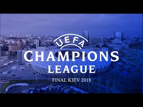2018 UEFA Champions League final. Kyiv, Ukraine.